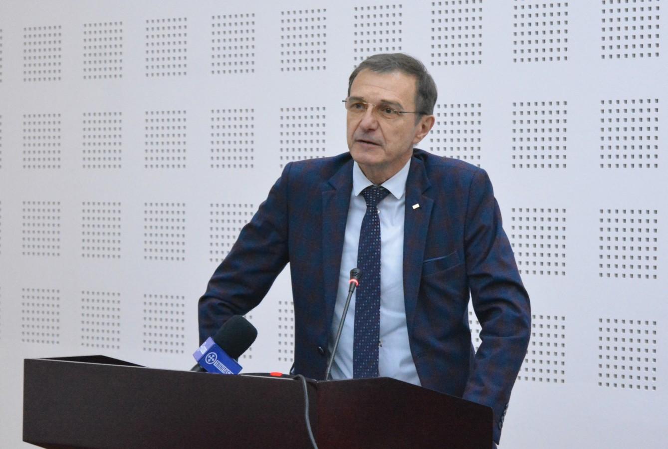 Președintele Academiei Române, Acad. Ioan-Aurel Pop a conferențiat astăzi pentru preoții clujeni