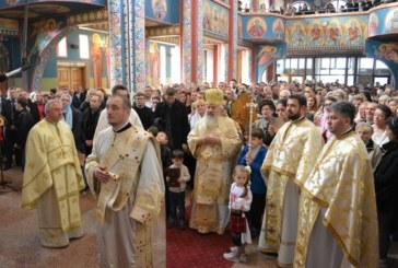 Biserica clujeană ocrotită de Sf. Cuv. Dimitrie cel Nou, sfințită de Mitropolitul Clujului