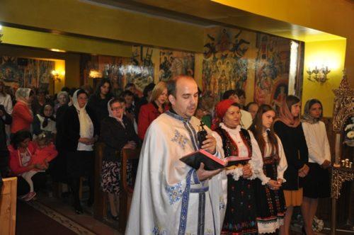 "Liturghie Arhierească în parohia ""Sf. Cuv. Parascheva"" din Șimleu Silvaniei"