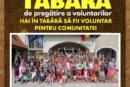 Tabără de pregătire a voluntarilor bistrițeni