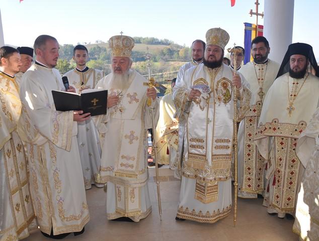 Târnosirea bisericii din Parohia Recea, județul Sălaj