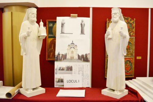 Statuile Episcopului Nicolae Ivan și a Mitropolitului Bartolomeu Anania vor fi dezvelite la Cluj, pe data de 30 noiembrie 2018