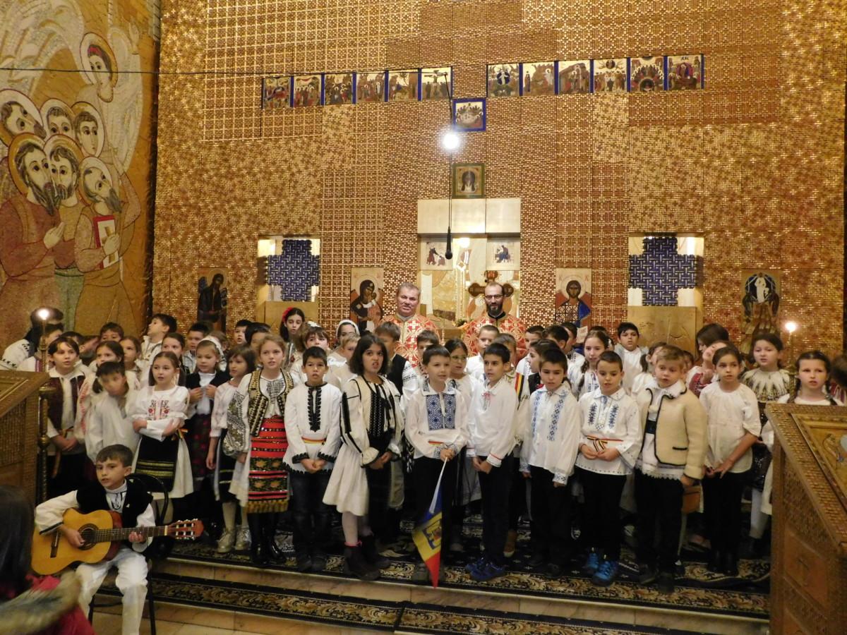 """Concert """"Uniți în glasul copiilor"""", la  parohia clujeană """"Schimbarea la Față"""""""