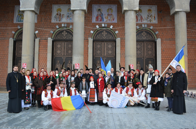 Delegația Mitropoliei Clujului, la sfințirea Catedralei Mântuirii Neamului
