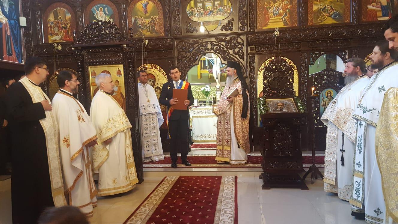 Exarhul Mănăstirilor din Arhiepiscopia Clujului, Cetățean de Onoare al comunei Mărișelu