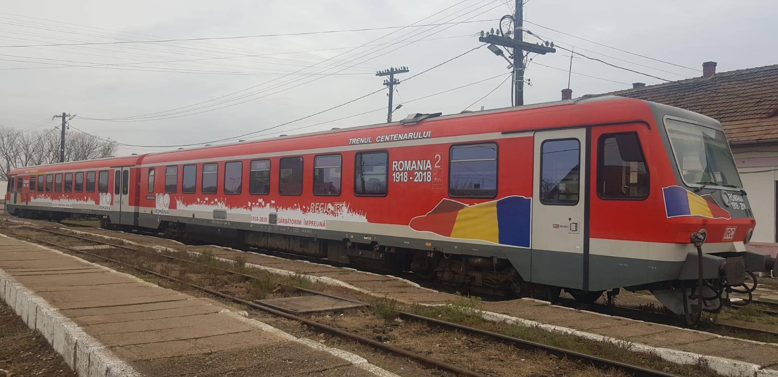 """""""Trenul Unirii"""" pleacă sâmbătă de la Huedin"""