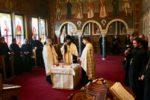 Arhim. dr. Benedict Vesa, la întâlnirea de lucru a preoților clujeni