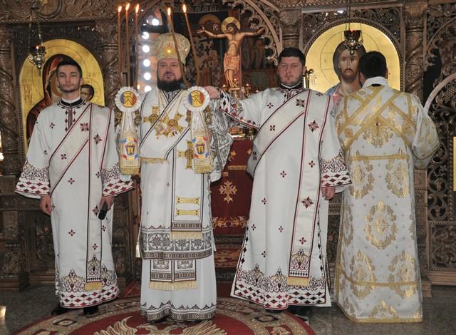 Hramul paraclisului de iarnă al Mănăstirii Bobota din Episcopia Sălajului