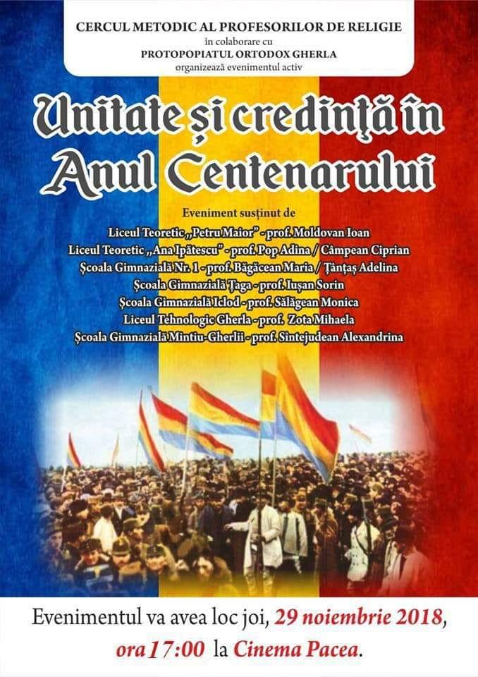 Unitate și credință, în Anul Centenarului