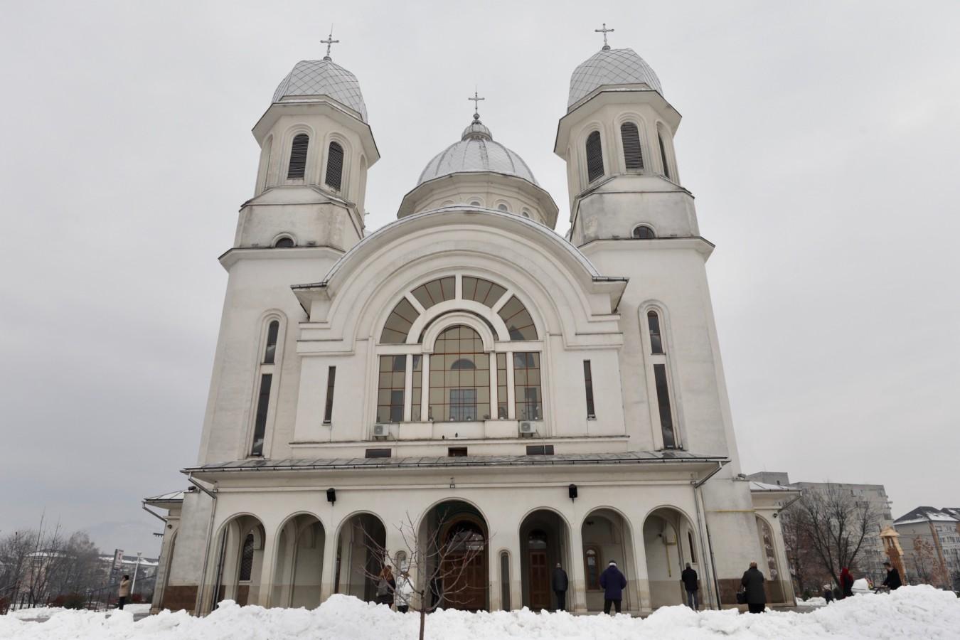 """Hramul bisericii """"Naşterea Domnului"""" din Baia Mare"""