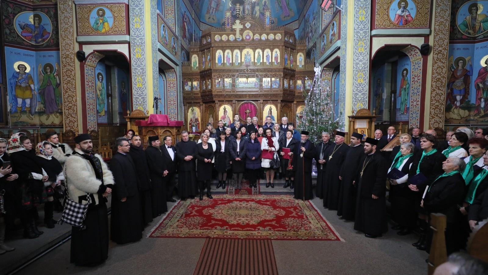 Concert de colinde la Sighetu Marmației