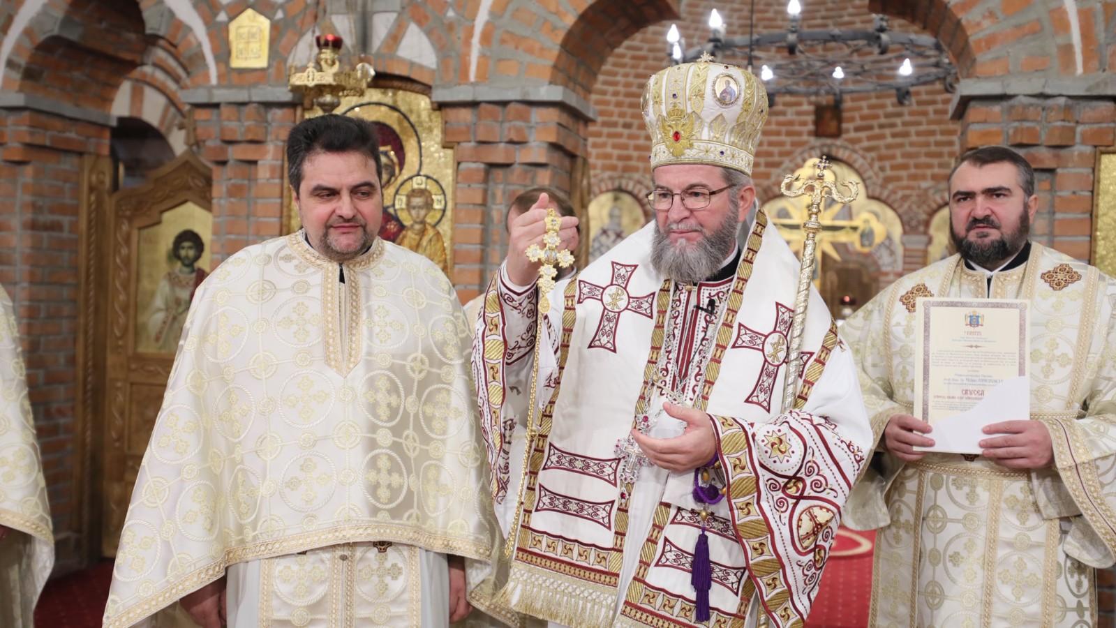 Crucea Sfântul Iosif Marturisitorul pentru Pr. Prof. Univ. Dr. Mihai Himcinschi