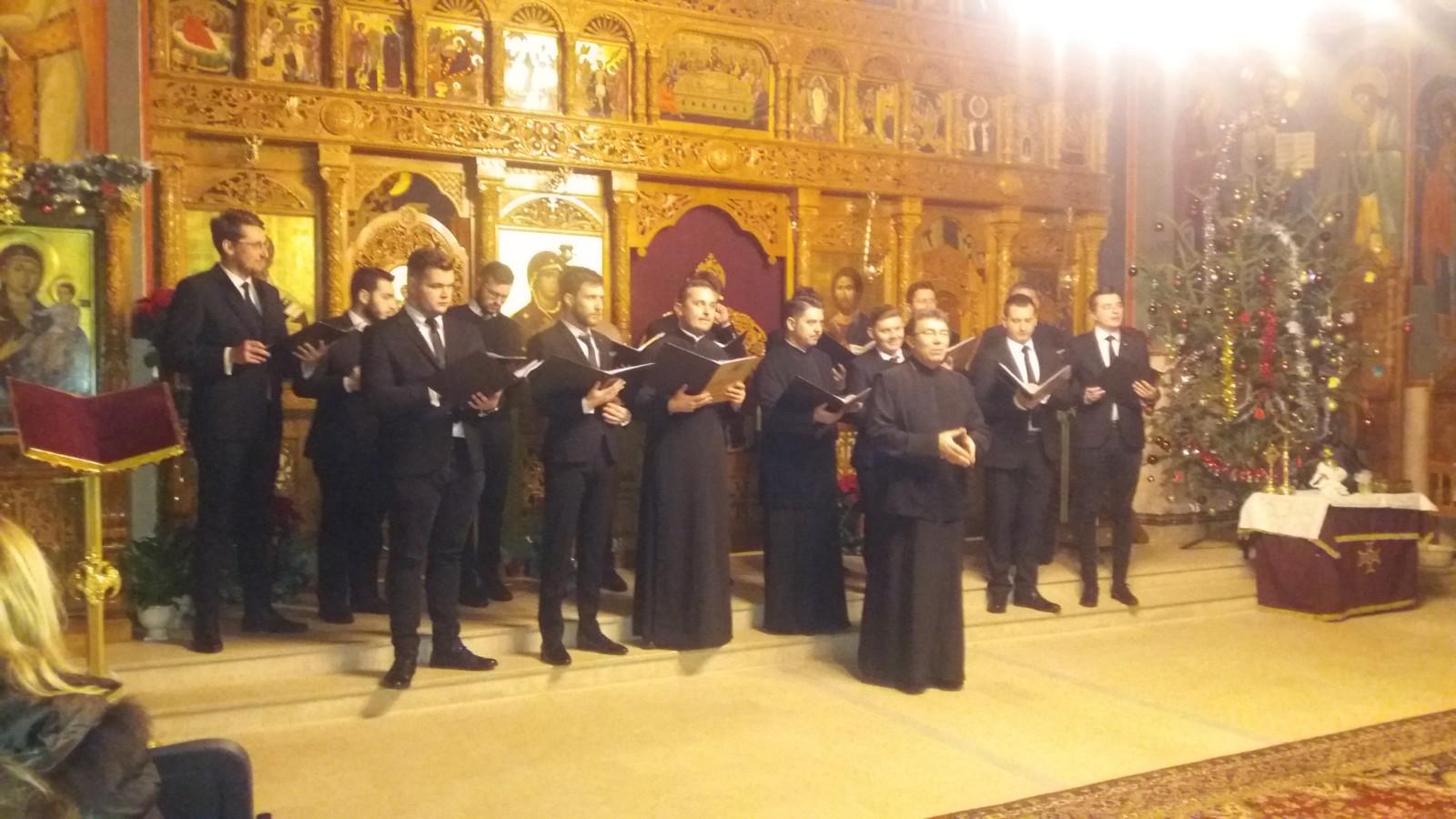 """Concert de colinde la Parohia """"Adormirea Maicii Domnului"""",Cluj Napoca"""