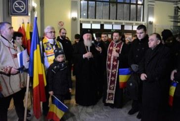 """Sute de elevi clujeni au mers cu """"Trenul Unirii"""" la Alba Iulia, de 1 Decembrie"""