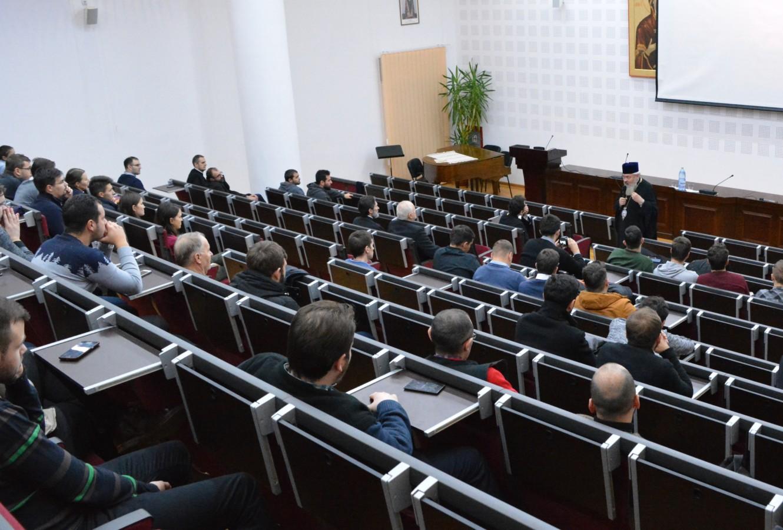 Părintele Constantin Galeriu, evocat la Facultatea de Teologie Ortodoxă din Cluj