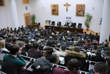 Purtătorul de cuvânt al Patriarhiei Române, Vasile Bănescu, a conferențiat la Cluj