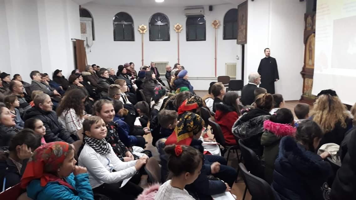 """Proiectul """"Bucuria Crăciunului în an centenar """" la Parohia """"Pogorârea Sfântului Duh"""" din cartierul Grigorescu, Cluj-Napoca"""