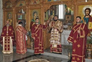 """Liturghie Arhierească în Parohia """"Sf. Proroc Daniel"""" din Jibou"""