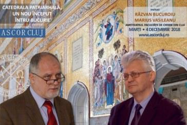 <span style='color:#B00000  ;font-size:14px;'>Conferință A.S.C.O.R. Cluj Napoca</span> <br> Catedrala Patriarhală – un nou început întru bucurie – Dl. Razvan Bucuroiu şi dl. Marius Vasileanu.</p>