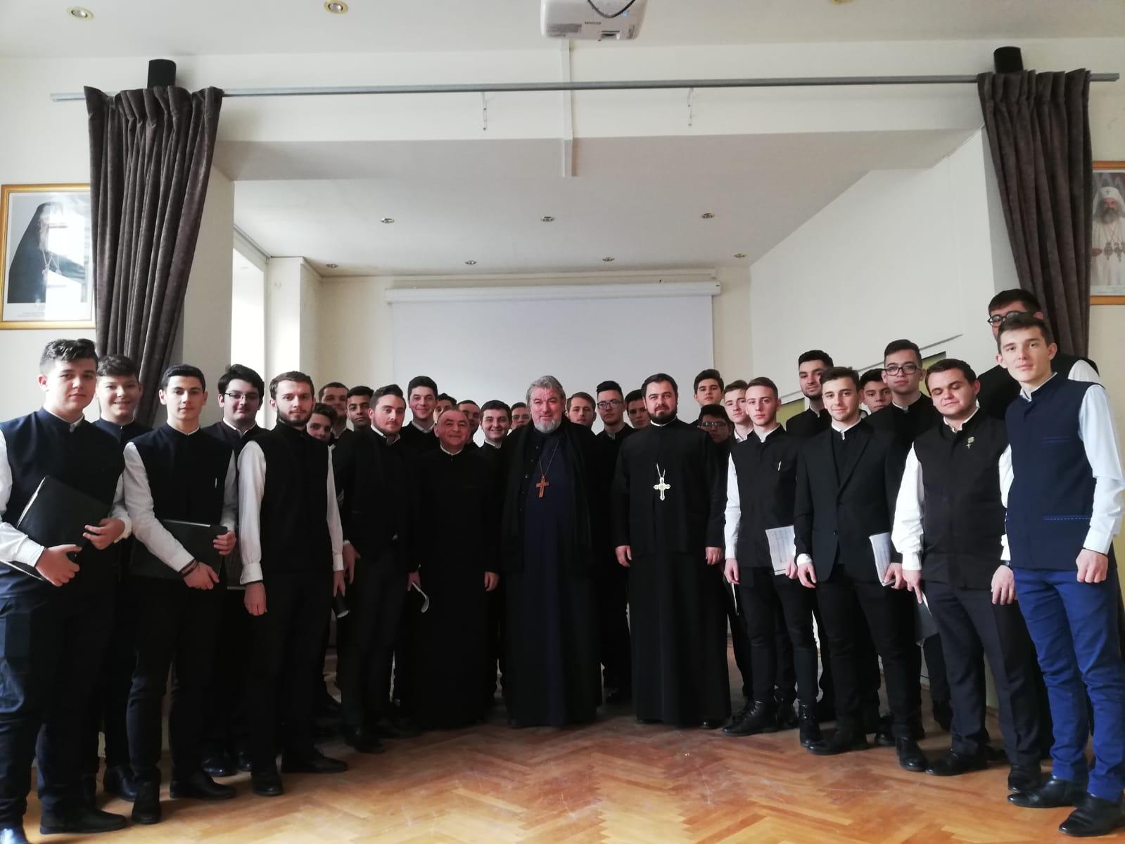 Președintele Senatului UBB, la ședința preoților clujeni