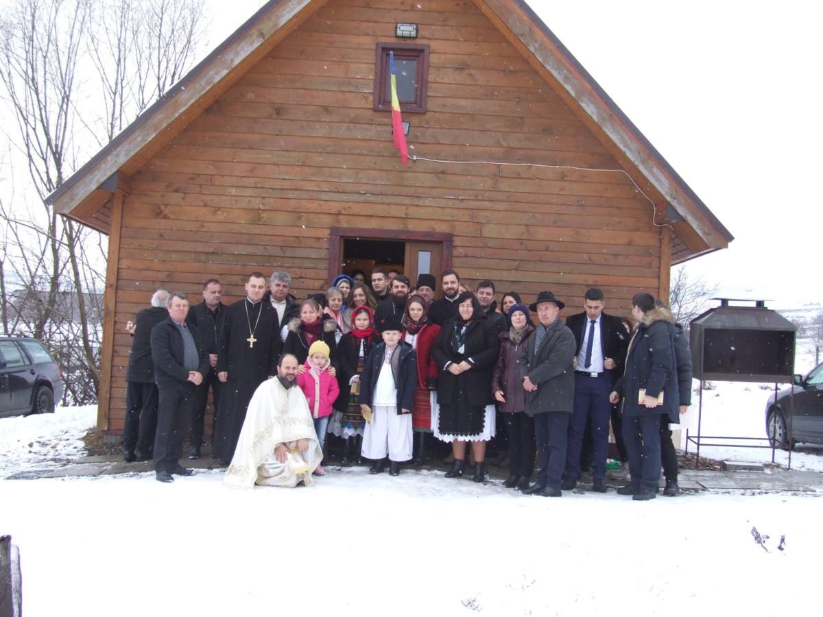 """Hram la  Parohia """"Sfântul Antonie cel Mare"""" din Cluj-Napoca"""