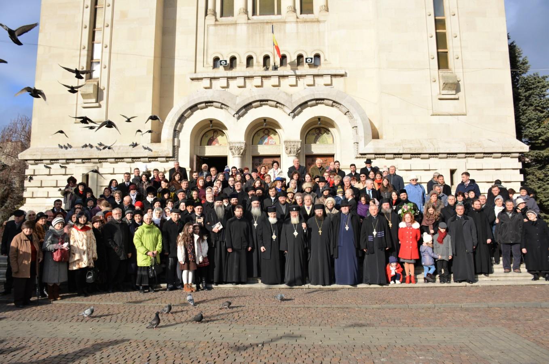 Preasfințitul Părinte Vasile Someșanul, sărbătorit la 70 de ani, în Catedrala Mitropolitană din Cluj
