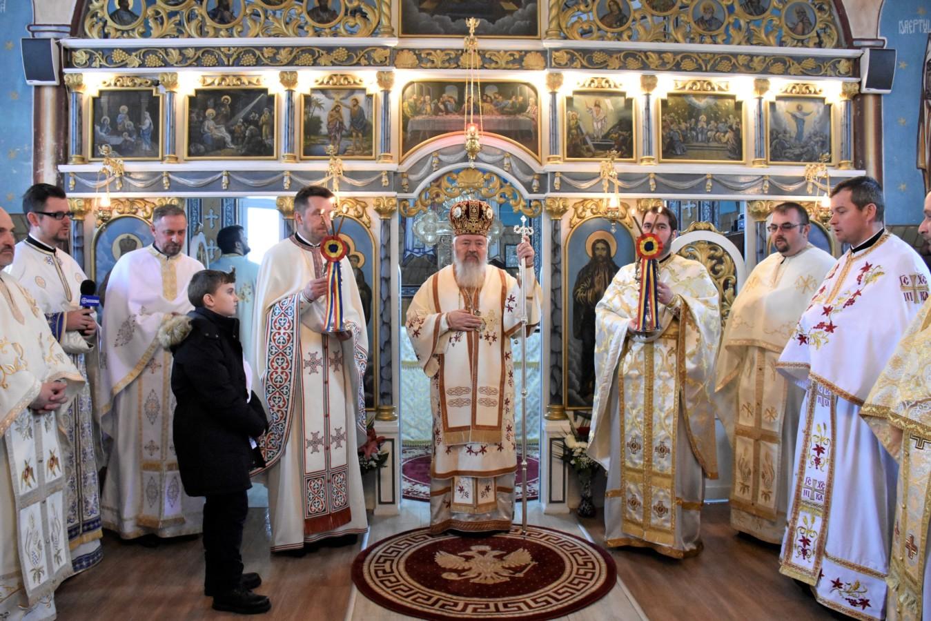 Mitropolitul Clujului a binecuvântat lucrările efectuate în Parohia Ceaba, jud. Cluj