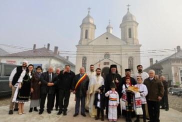Sfânta Liturghie Arhierească în prima biserică românească din oraşul Tg. Lăpuş