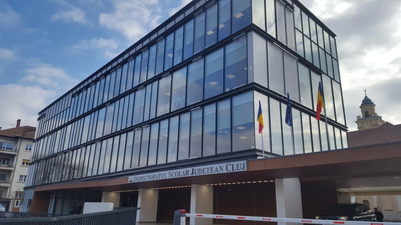 Noul sediu al Inspectoratului Școlar Județean Cluj, inaugurat în prezența Părintelui Mitropolit Andrei