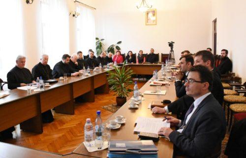 Ședință semestrială cu părinții protopopi, la Centrul Eparhial din Cluj-Napoca