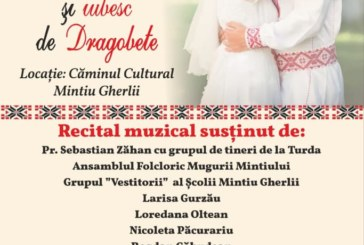 """Spectacol Caritabil """"Sunt român şi iubesc de Dragobete"""" ediţia a treia, la Mintiu Gherlii"""