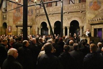 """Vecernia iertării la Catedrala Mitropolitană. IPS Andrei: """"Iisus Hristos, Lumina lumii ne învață cum să postim"""""""