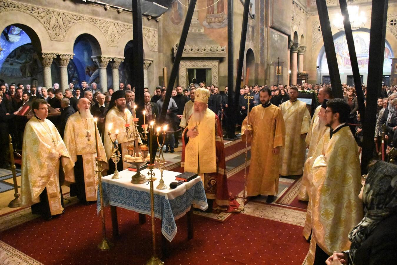 Ajunul Praznicului Bunei Vestiri, hramul Mitropoliei Clujului