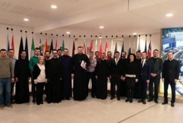 Jurnaliști din presa religioasă din România, în vizită la instituțiile europene de la Bruxelles