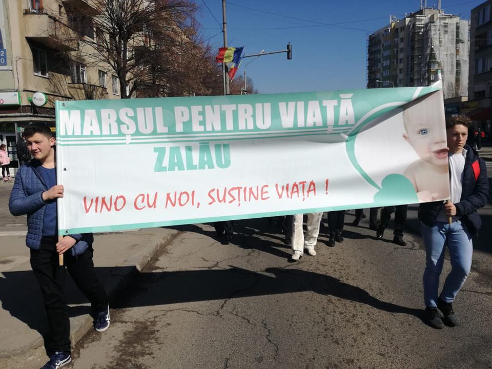 Marșul pentru viață, pentru al cincelea an consecutiv, la Zalău