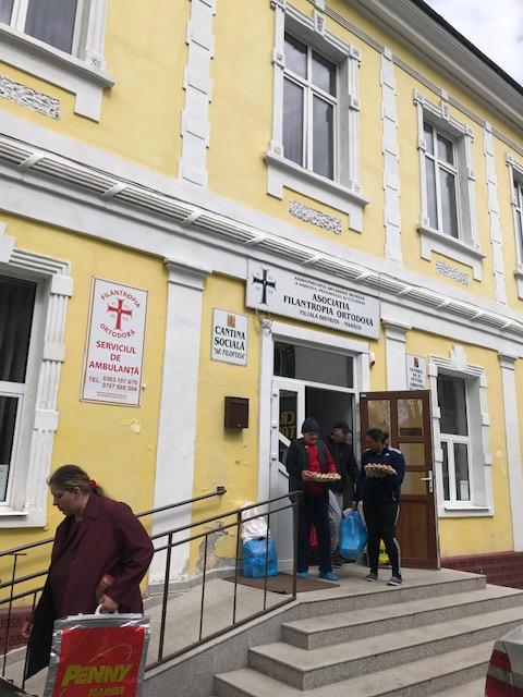 Acțiuni de binefacere ale Asociației Filantropia Ortodoxă – Filiala Bistrița-Năsăud