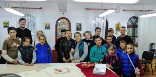 Copiii din Parohia Stupini, în pelerinaj la mănăstirile din Mitropolia Clujului