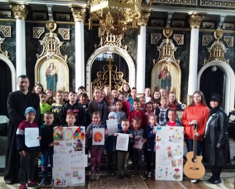 Activităţi cu copiii şi tinerii Parohiei Ortodoxe Nepos