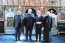 <span style='color:#B00000  ;font-size:14px;'> </span> <br> Prelegeri academice la ședința preoților din Protopopiatul Ortodox Român Cluj 1</p>