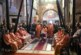 Joia Mare, la Catedrala Mitropolitană din Cluj-Napoca. Eclesiarhul Catedralei a spălat picioarele a 12 preoți, diaconi și studenți teologi