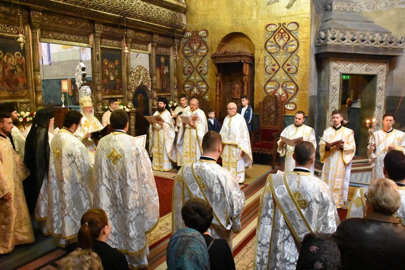 Vecernia din Prima zi de Paști sau A doua Înviere, la Catedrala din Cluj-Napoca