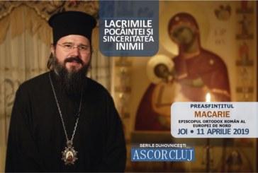 Lacrimile pocăinței și sinceritatea inimii – Preasfințitul Macarie – A cincea seară duhovnicească A.S.C.O.R. Cluj