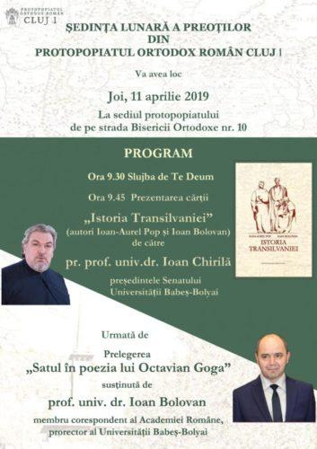 Invitați de seamă la ședința preoților din Protopopiatul Ortodox Român Cluj I