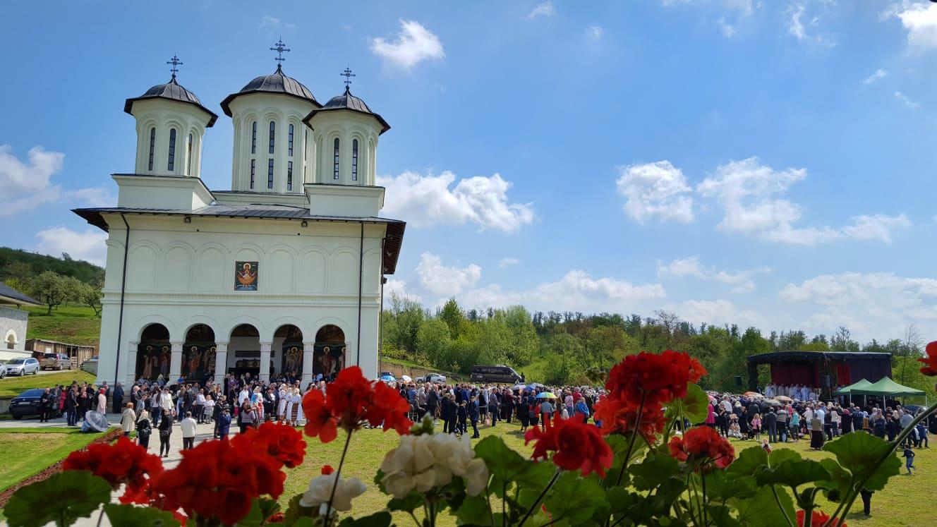 Izvorul Tămăduirii, Hramul Mănăstirii Salva din Țara Năsăudului