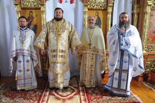 Liturghie Arhierească la Mănăstirea sălăjeană Rus