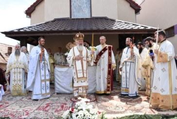 Biserica Parohiei Finișel, sfințită de Mitropolitul Clujului