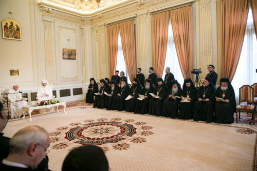 Mitropolitul Andrei, prezent la întâlnirea cu Papa Francisc