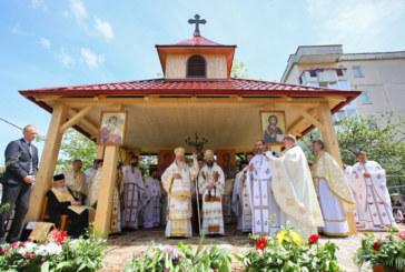 """Biserica """"Pogorârea Sfântului Duh"""" din cartierul clujean Zorilor, sfinţită de trei ierarhi ai Bisericii Ortodoxe Române"""