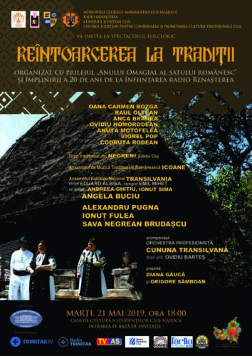 """Spectacolul folcloric ,,Reîntoarcerea la tradiții"""""""