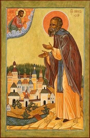 Sfântul Nil Sorski și Rusia sketică